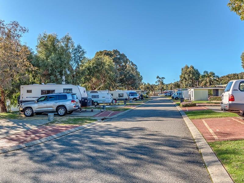 the best caravan park in perth
